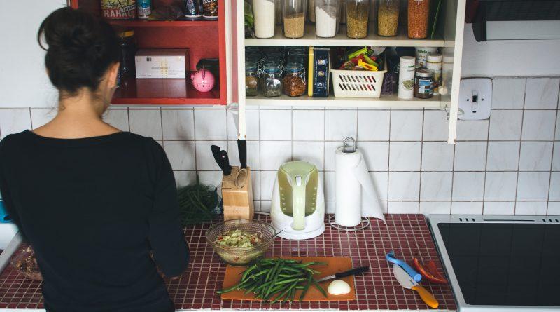 Schoonmaken van de keuken